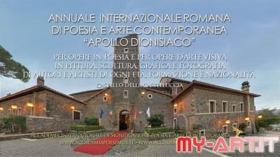 Annuale Internazionale di Poesia e Arte Contemporanea Apollo dionisiaco Roma 2020