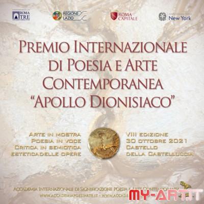 Poesia e Arte dal mondo. Apollo dionisiaco Roma 2021 celebra la rinascita della vita