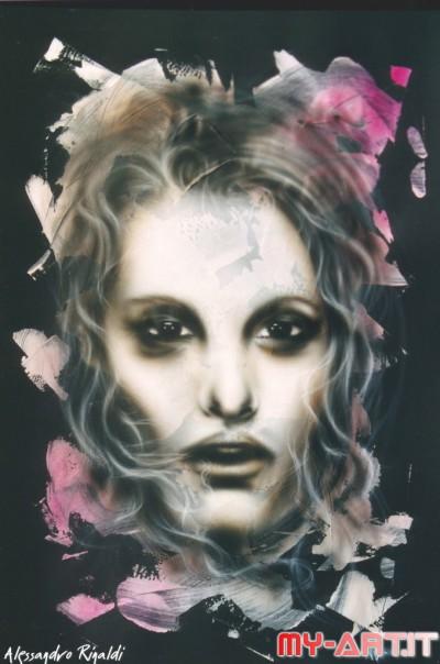 Ghost - Original Art by Alessandro Rinaldi
