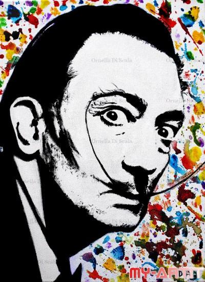 Ritratto Salvador Dalì